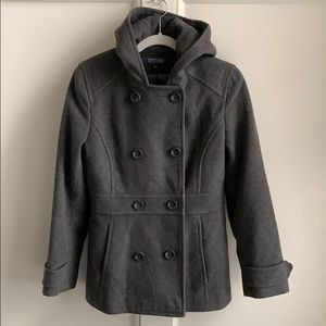 Kenneth Cole Reaction Double Breasted Pea Coat